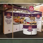 New York Bakery Co. OOH Lunch Show Stand